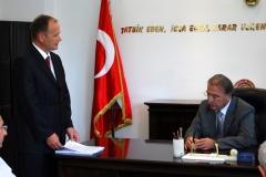 Mehmet Ali ŞAHİN ve Osmaniye Vali Yardımcısı Süleyman YILMAZ