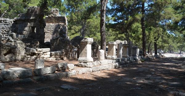 phaselis-fasalis-antik-kenti-plajları-1