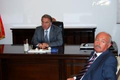 Mehmet Ali ŞAHİN ve Eski Antalya Valisi Alaaddin YÜKSEL